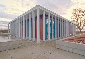 Das Literaturmuseum der Moderne in Marbach, Foto: Valentin Wormbs, Stuttgart
