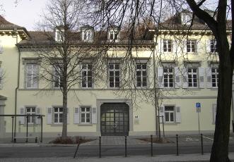 Alte Karlburg Durlach, heute Sitz des Max-Reger-Instituts, Foto: MRI Karlsruhe