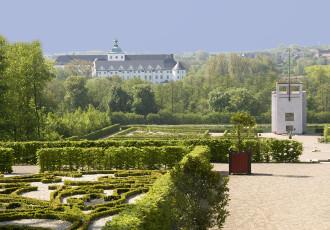 Gottorfer Barockgarten und Globushaus, Foto: Schleswig-Holsteinische Landesmuseen Schloss Gottorf