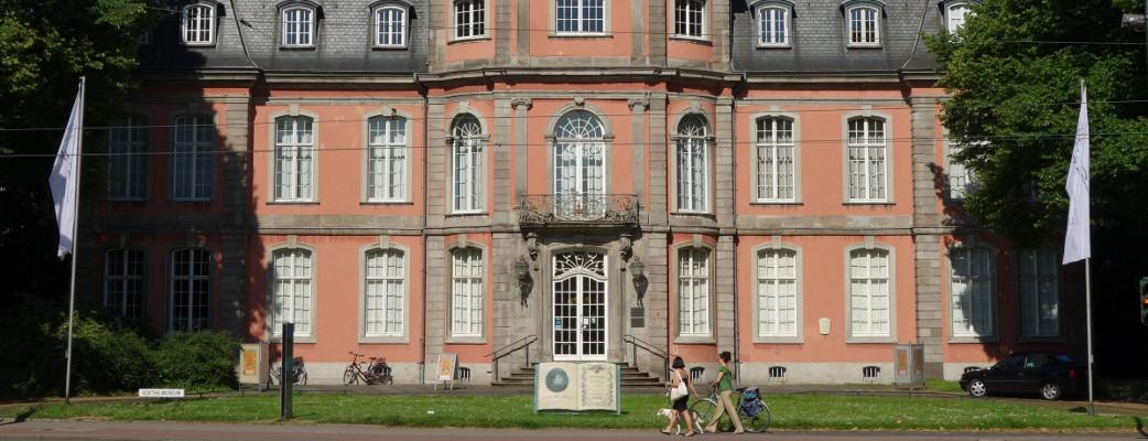 Das Goethe-Museum Düsseldorf im 'Schloss Jägerhof'