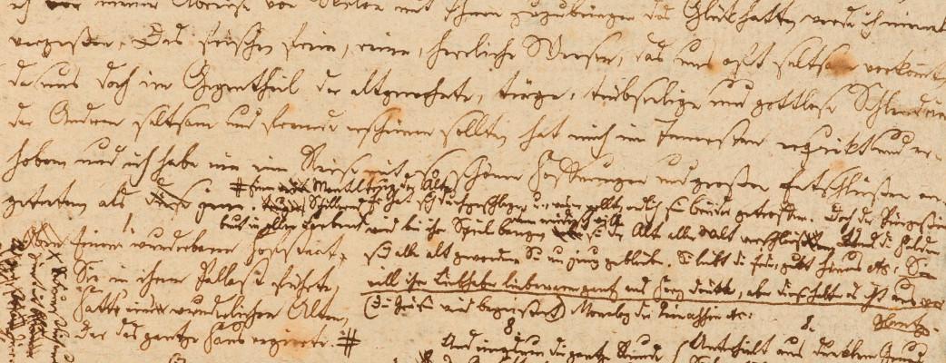 Briefentwurf Joseph von Eichendorffs an Achim von Arnim (Jahreswende 1810/1811)