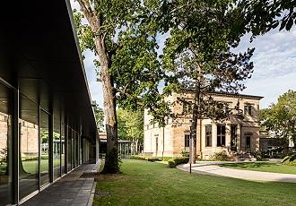 Richard Wagner Museum, Neubau und Haus Wahnfried (Gartenseite) Quelle: Nationalarchiv der Richard-Wagner-Stiftung Bayreuth - Foto: Marcus Ebener