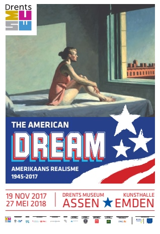 Ausstellungsplakat: The American Dream