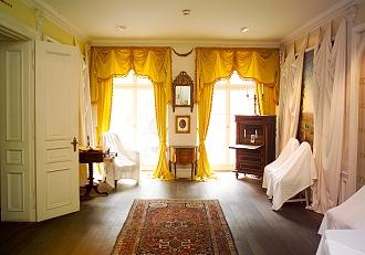Beletage Buddenbrooks: Das Landschaftszimmer, Foto: die LÜBECKER MUSEEN, Michael Haydn