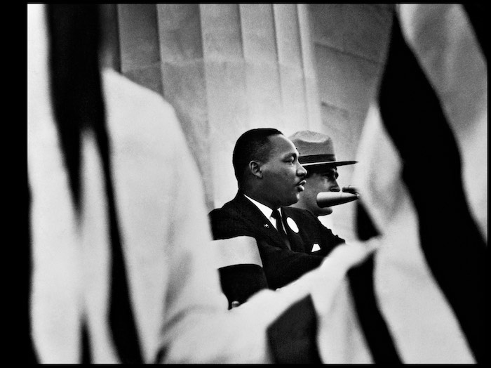 Gordon Parks, Martin Luther King Jr., Washington, D.C., 1963, Schwarz-Weiß-Fotografie, © Courtesy of The Gordon Parks Foundation