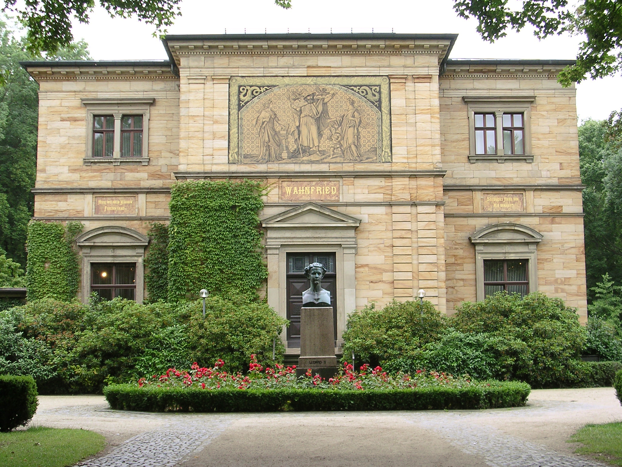 Haus Wahnfried, Foto: Richard Wagner Museum Bayreuth