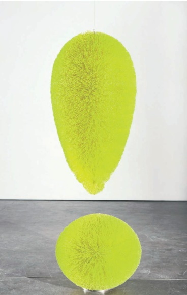 Richard Artschwager, Exclamation Point (Chartreuse), 2008, © the artist / Artists Rights Society, New York, 2016, Courtesy Gagosian Gallery and Sprüth Magers