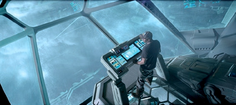 'Prometheus' (2012), Ridley Scott, USA/UK 2012, Foto: © akg-images / Album / DUNE ENTERTAINMENT